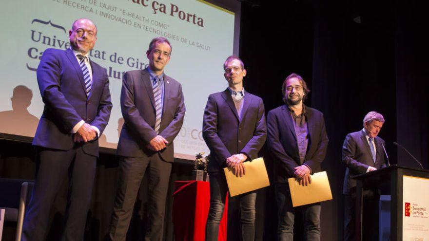 Investigadors de la Universitat de Girona (UdG) i de l'Institut d'Assistència Sanitària reben l'ajut e-Health COMG